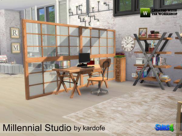 Millennial Studio by kardofe at TSR image 3212 Sims 4 Updates