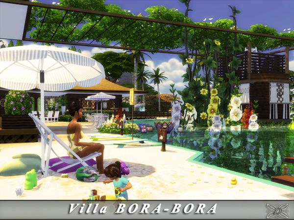 Villa BORA BORA by Danuta720 at TSR image 33 Sims 4 Updates