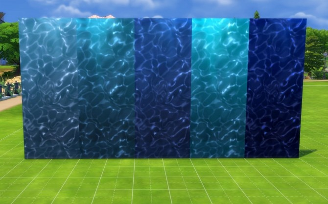 Under the Sea Part II: Underwater Walls, Murals and Floor by Snowhaze at Mod The Sims image 3310 670x416 Sims 4 Updates