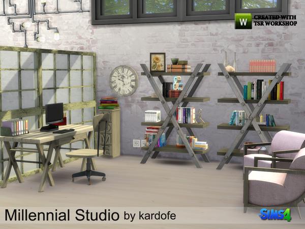 Millennial Studio by kardofe at TSR image 3311 Sims 4 Updates
