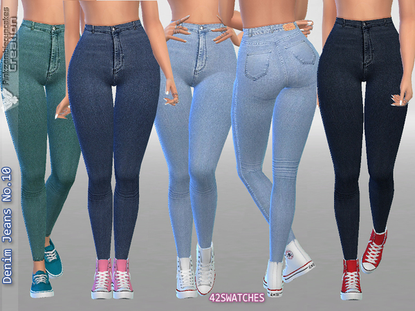Denim Jeans No 10 By Pinkzombiecupcakes At Tsr 187 Sims 4