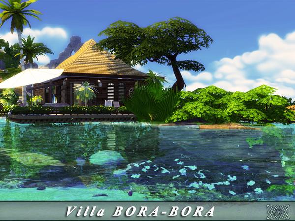 Villa BORA BORA by Danuta720 at TSR image 34 Sims 4 Updates