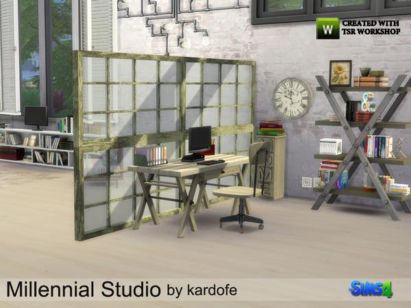 Millennial Studio by kardofe at TSR image 3410 Sims 4 Updates