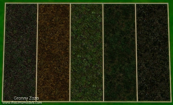 Terrain paint by Granny Zaza at The Sims Models image 3471 670x408 Sims 4 Updates