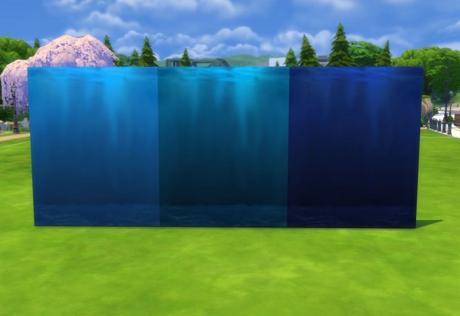Under the Sea Part II: Underwater Walls, Murals and Floor by Snowhaze at Mod The Sims image 349 670x461 Sims 4 Updates