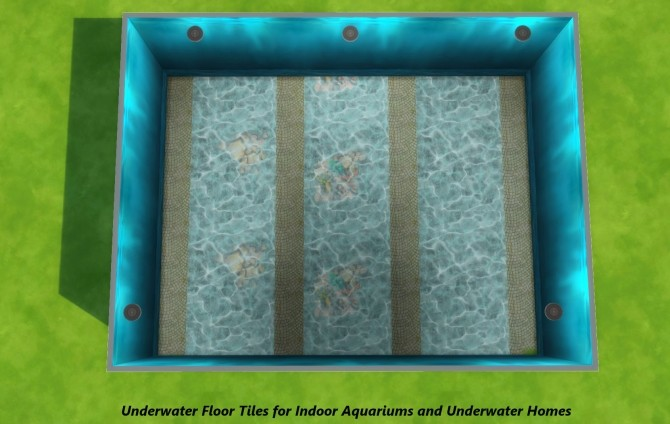 Under the Sea Part II: Underwater Walls, Murals and Floor by Snowhaze at Mod The Sims image 3510 670x424 Sims 4 Updates