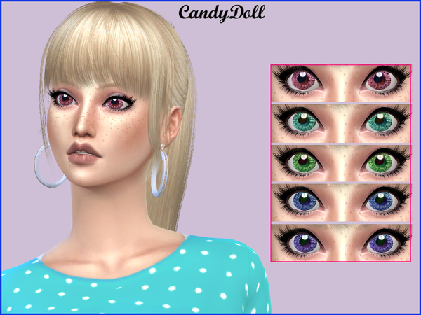 True Cute Doll Eyes by CandyDolluk at TSR image 3513 Sims 4 Updates
