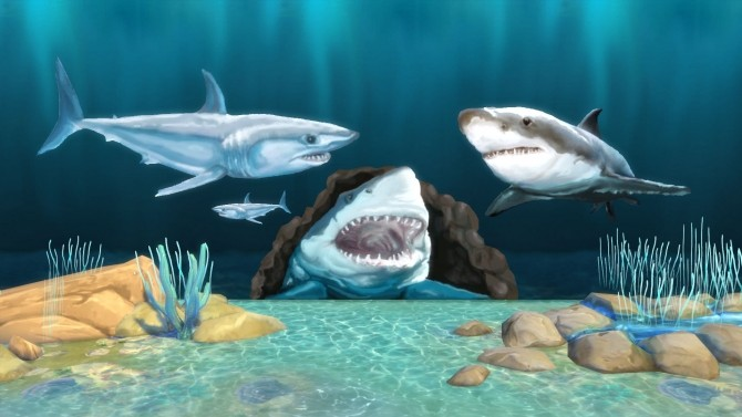 Yipes! Sharks! by Snowhaze at Mod The Sims image 3514 670x377 Sims 4 Updates