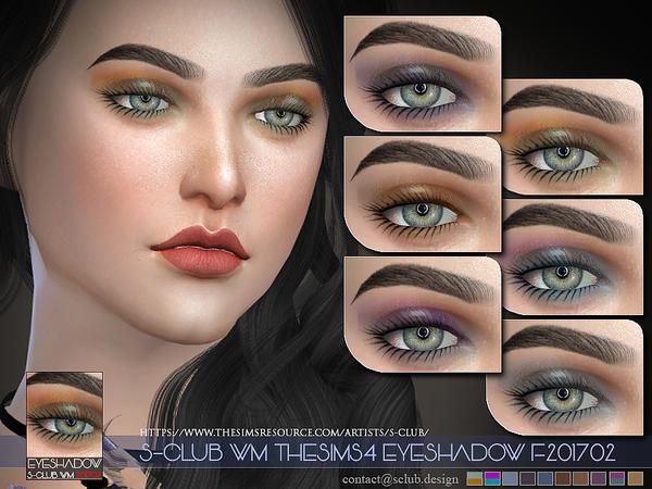 Sims 4 Eyeshadow F201702 by S Club WM at TSR