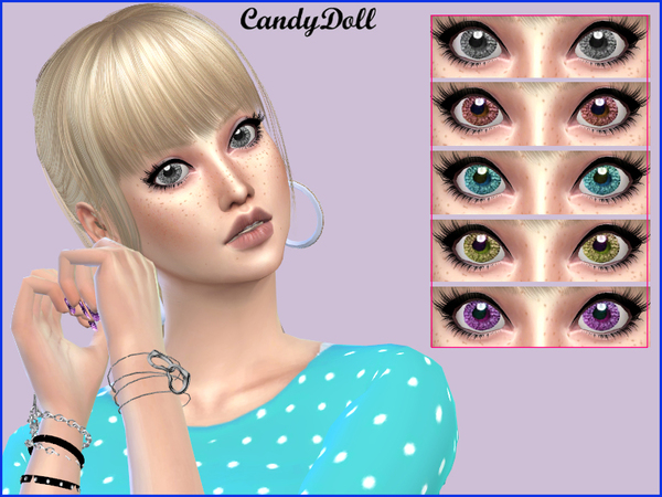 True Cute Doll Eyes by CandyDolluk at TSR image 3613 Sims 4 Updates
