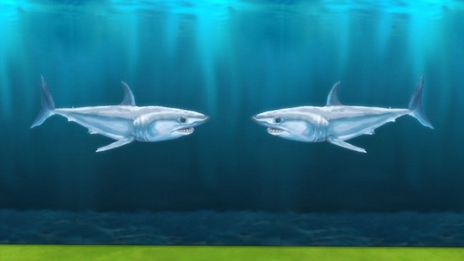 Yipes! Sharks! by Snowhaze at Mod The Sims image 3614 670x377 Sims 4 Updates