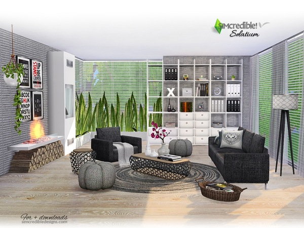 Solatium living room by SIMcredible at TSR image 370 Sims 4 Updates