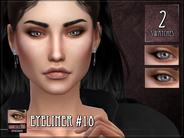Sims 4 Eyeliner 18 by RemusSirion at TSR
