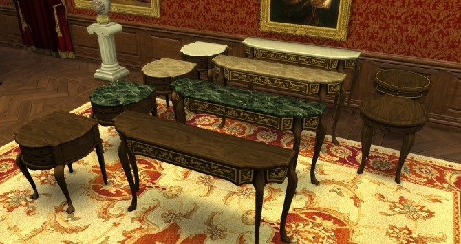 Three End Tables from TS3 by TheJim07 at Mod The Sims image 4116 670x355 Sims 4 Updates