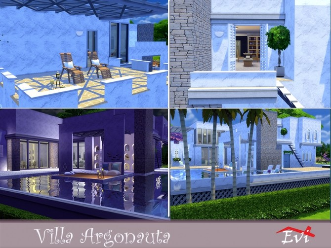 Villa Argonauta by evi at TSR image 4118 670x503 Sims 4 Updates