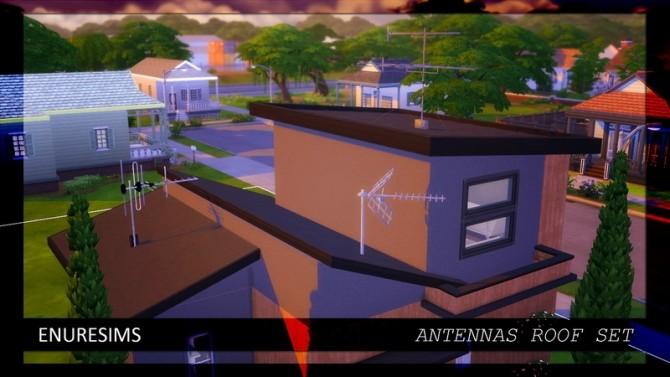 Antennas Roof Set at Enure Sims image 417 670x377 Sims 4 Updates