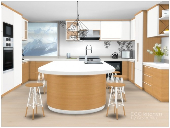 ECO kitchen at Sims by Severinka image 418 670x505 Sims 4 Updates
