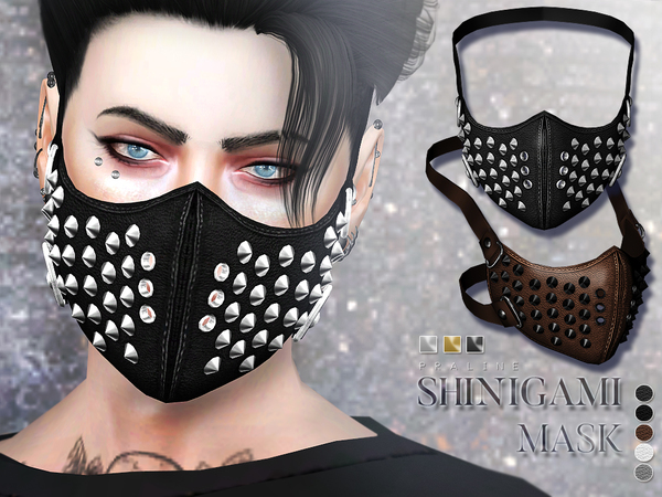 Shinigami Mask by Pralinesims at TSR image 420 Sims 4 Updates
