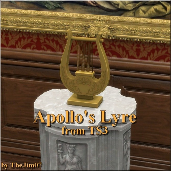Apollos Lyre from TS3 by TheJim07 at Mod The Sims image 4217 670x670 Sims 4 Updates
