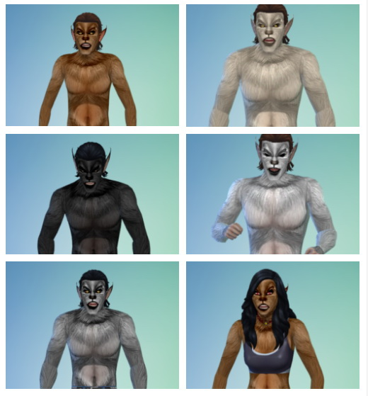 Moonskin93s The Beast Within skin edited by Hagfisher at SimsWorkshop image 422 Sims 4 Updates