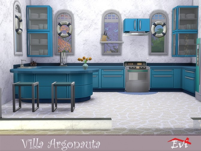 Villa Argonauta by evi at TSR image 4313 670x503 Sims 4 Updates