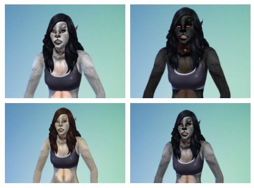 Moonskin93s The Beast Within skin edited by Hagfisher at SimsWorkshop image 432 Sims 4 Updates