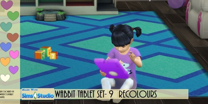 Wabbit Tablet in 9 Recolours by wendy35pearly at Mod The Sims image 4417 670x335 Sims 4 Updates