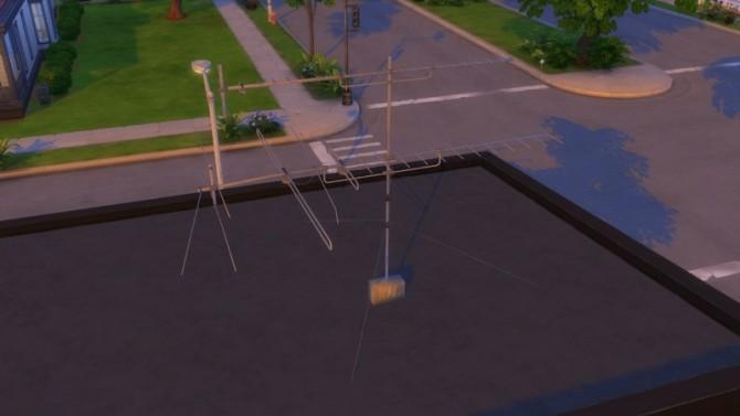 Antennas Roof Set at Enure Sims image 443 670x377 Sims 4 Updates