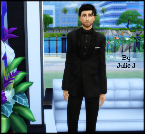 Sims 4 More Male Tuxedo Seperate Recolours at Julietoon – Julie J