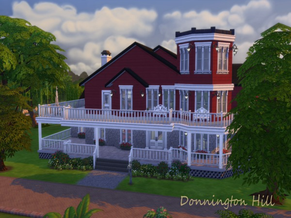 Sims 4 Donnington Hill by JanisaSims at TSR