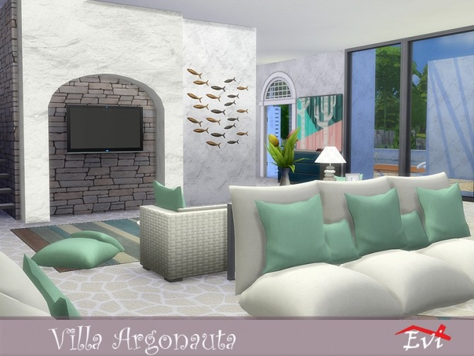 Villa Argonauta by evi at TSR image 4515 670x503 Sims 4 Updates
