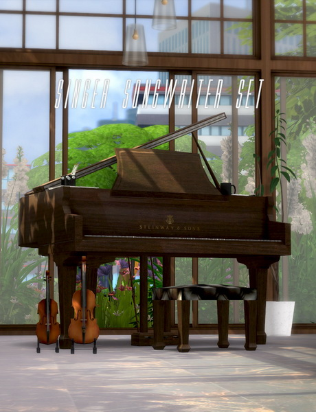 Singer songwriter set at Asteria Sims image 454 Sims 4 Updates