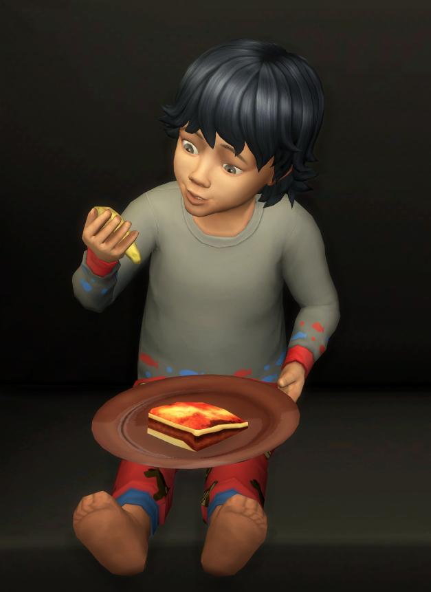 Lasagna Custom food by icemunmun at Mod The Sims image 4613 Sims 4 Updates