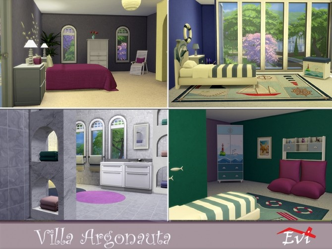 Villa Argonauta by evi at TSR image 4615 670x503 Sims 4 Updates