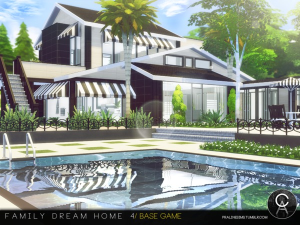 Family Dream Home 4 by Pralinesims at TSR image 4617 Sims 4 Updates