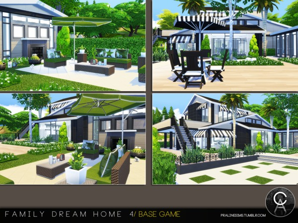 Sims 4 Family Dream Home 4 by Pralinesims at TSR