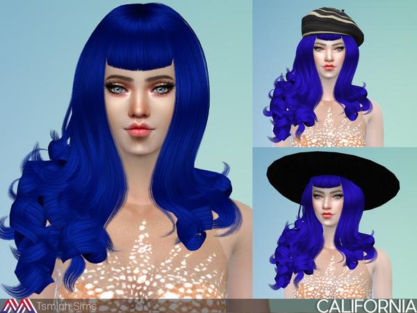 California Hair 30 by TsminhSims at TSR image 48 Sims 4 Updates