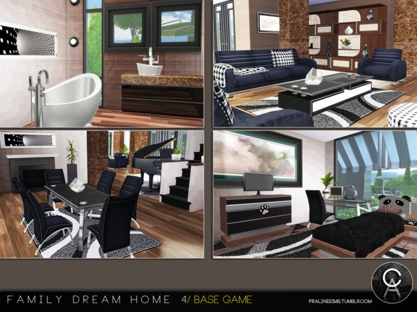 Family Dream Home 4 by Pralinesims at TSR image 4817 Sims 4 Updates
