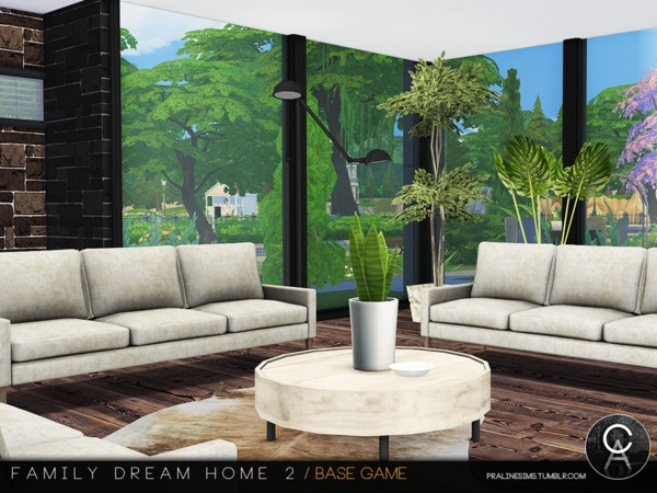 Sims 4 Family Dream Home 2 by Pralinesims at TSR