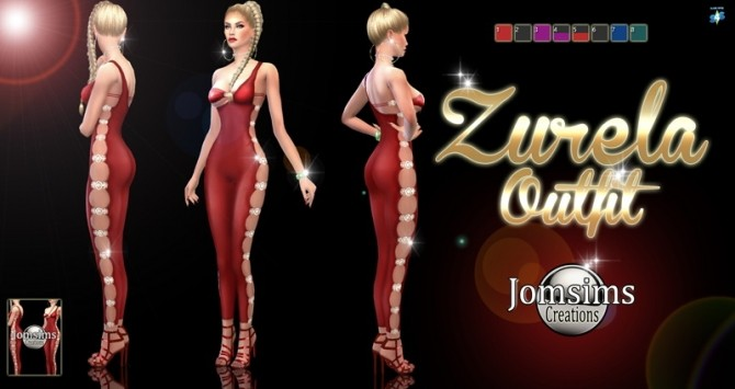 Zurela outfit at Jomsims Creations image 491 670x355 Sims 4 Updates