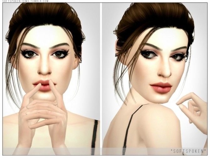 Anne Hathaway by Softspoken at TSR image 4915 670x503 Sims 4 Updates