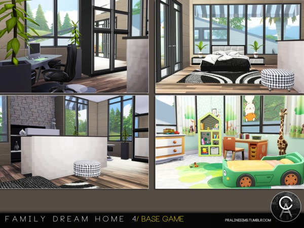 Family Dream Home 4 by Pralinesims at TSR image 4917 Sims 4 Updates