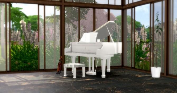 Sims 4 Singer songwriter set at Asteria Sims