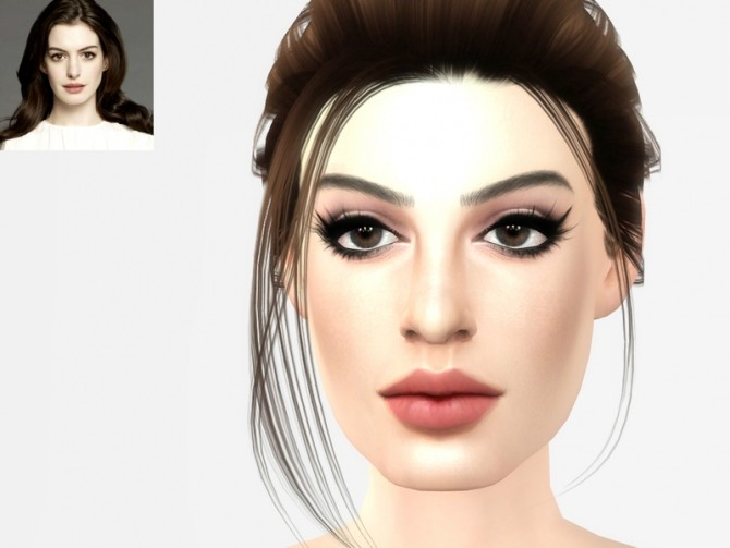 Anne Hathaway by Softspoken at TSR image 5014 670x503 Sims 4 Updates