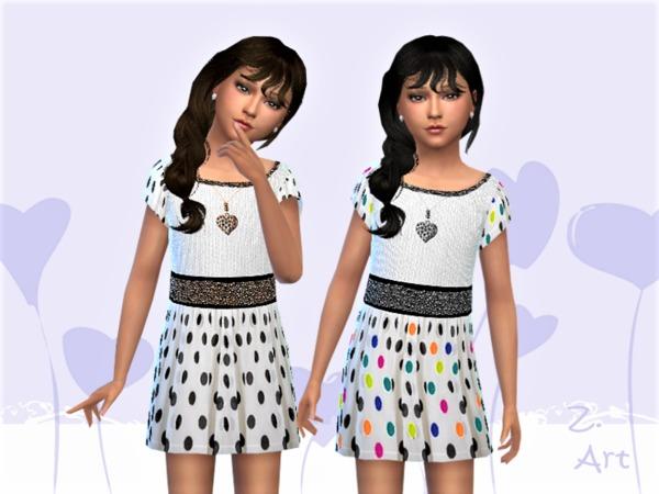 Sims 4 GirlZ 06 shirt dress by Zuckerschnute20 at TSR