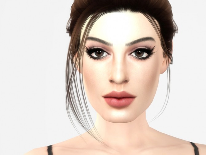 Anne Hathaway by Softspoken at TSR image 5118 670x503 Sims 4 Updates