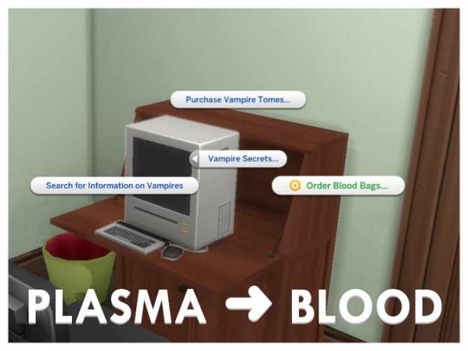 Sims 4 Drink Blood, Not Plasma by Letisiya at Mod The Sims