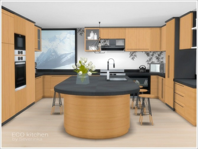 ECO kitchen at Sims by Severinka image 517 670x505 Sims 4 Updates