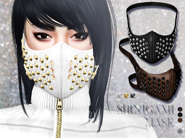 Shinigami Mask by Pralinesims at TSR image 519 Sims 4 Updates