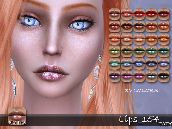 Lips 154 by tatygagg at TSR image 52 Sims 4 Updates
